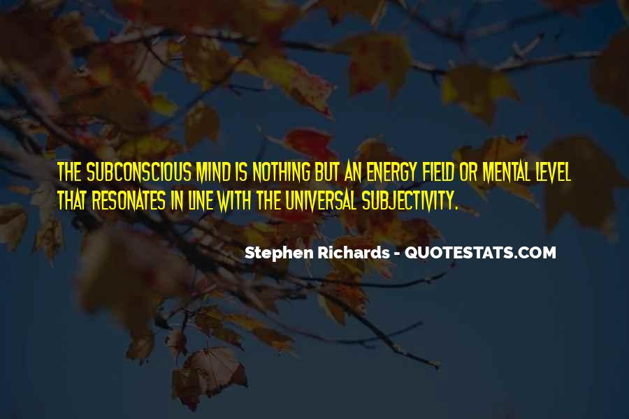 Quotes On Subconscious Mind Power #1753233