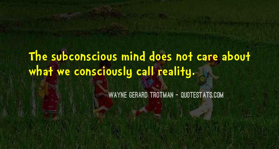 Quotes On Subconscious Mind Power #612571