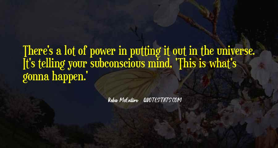 Quotes On Subconscious Mind Power #733671