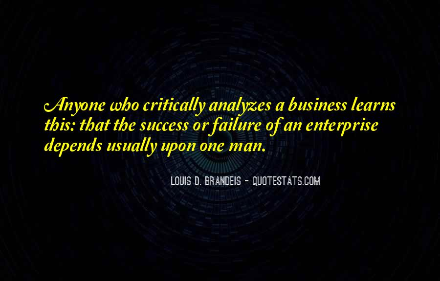 Quotes On Success And Failure In Business #1367886