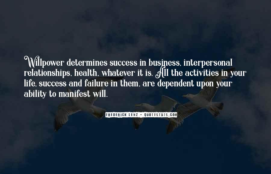 Quotes On Success And Failure In Business #304677