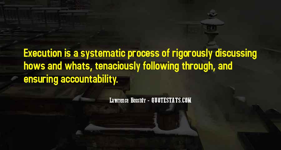 Quotes On Systematic Process #1435580