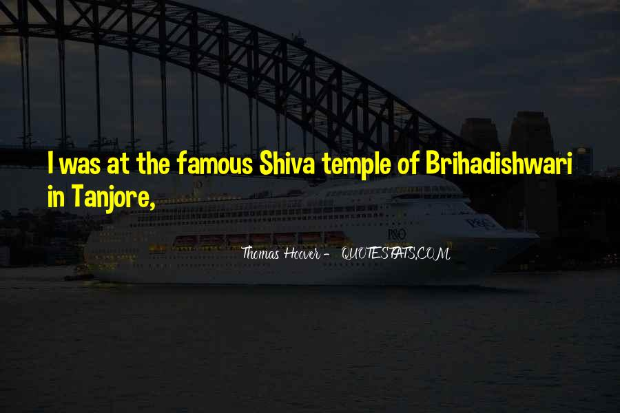 Quotes On Tanjore Big Temple #1224272