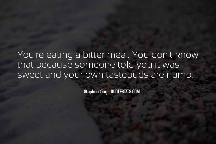 Quotes On Tastebuds #536389