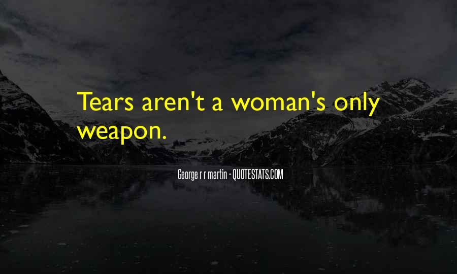 Quotes On Tears Of A Woman #1094272