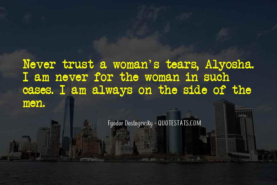 Quotes On Tears Of A Woman #1731904