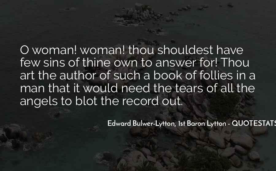 Quotes On Tears Of A Woman #1772137