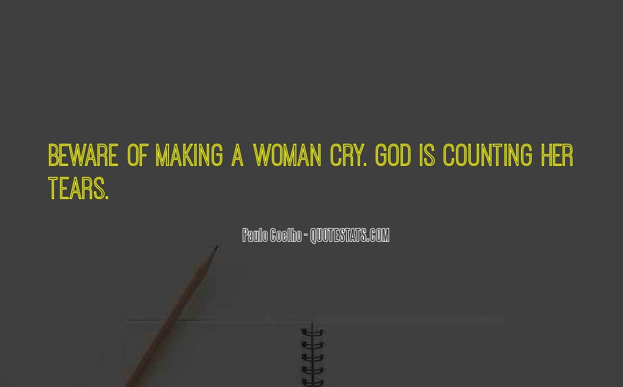 Quotes On Tears Of A Woman #664084