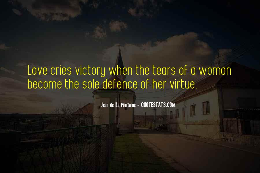 Quotes On Tears Of A Woman #746922