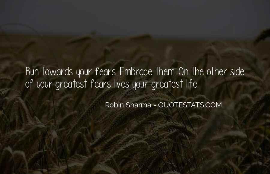 Quotes On The Other Side Of Fear #1032894