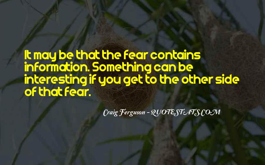 Quotes On The Other Side Of Fear #1183681