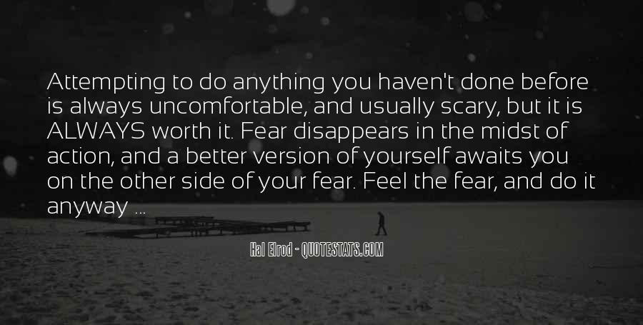 Quotes On The Other Side Of Fear #1292716