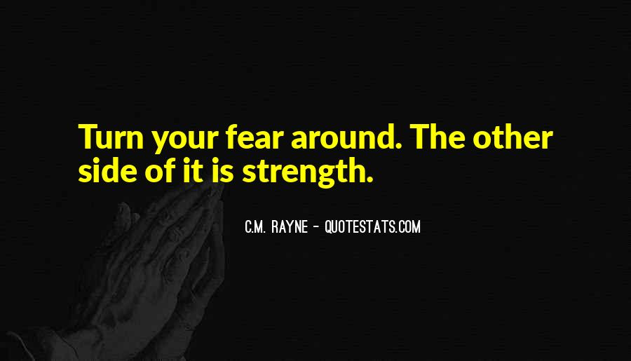 Quotes On The Other Side Of Fear #1305443