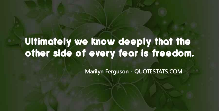 Quotes On The Other Side Of Fear #1498024