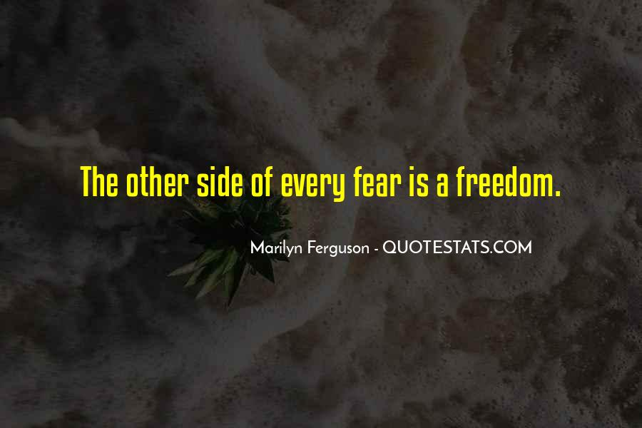 Quotes On The Other Side Of Fear #1603793