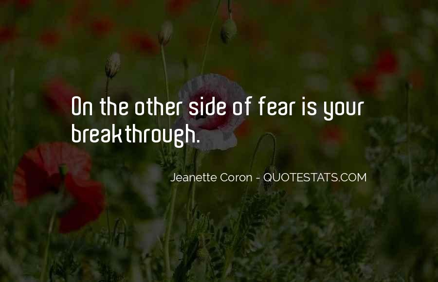 Quotes On The Other Side Of Fear #1776632