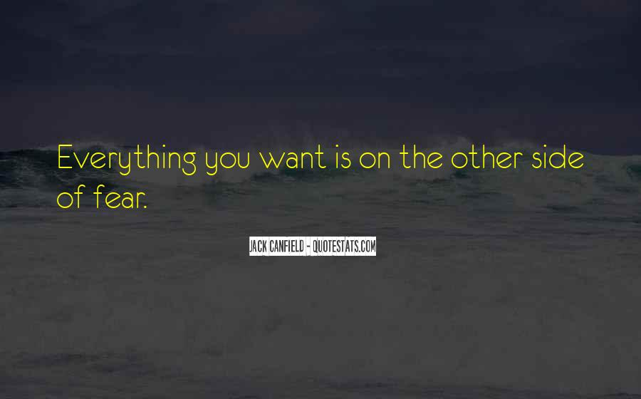 Quotes On The Other Side Of Fear #581331