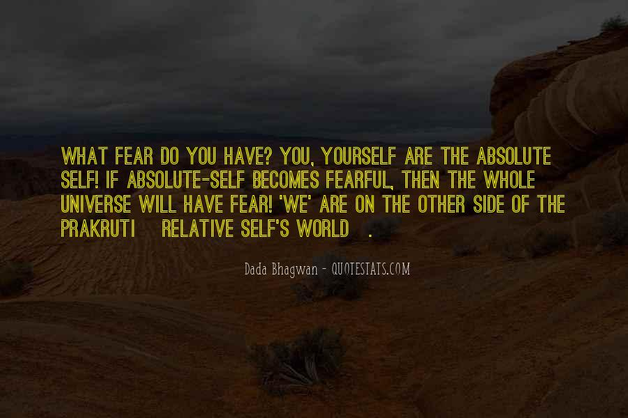 Quotes On The Other Side Of Fear #69323