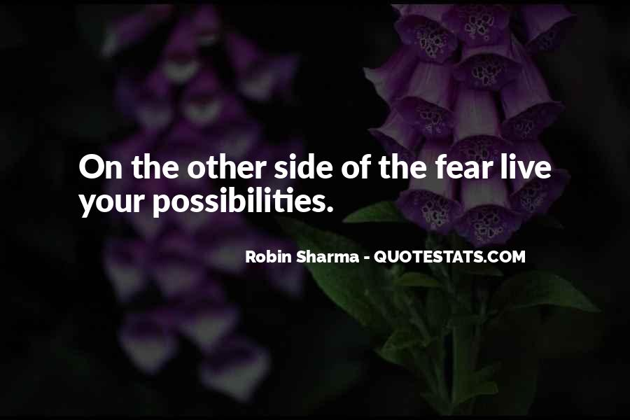 Quotes On The Other Side Of Fear #939718