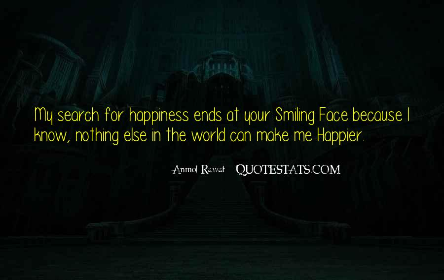 Quotes On The Search For Happiness #1427625