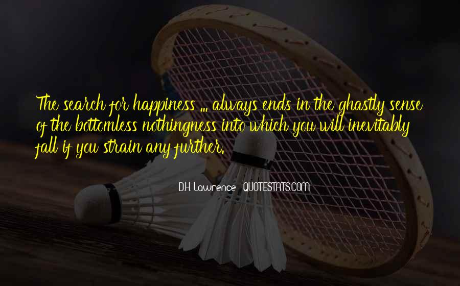 Quotes On The Search For Happiness #24395