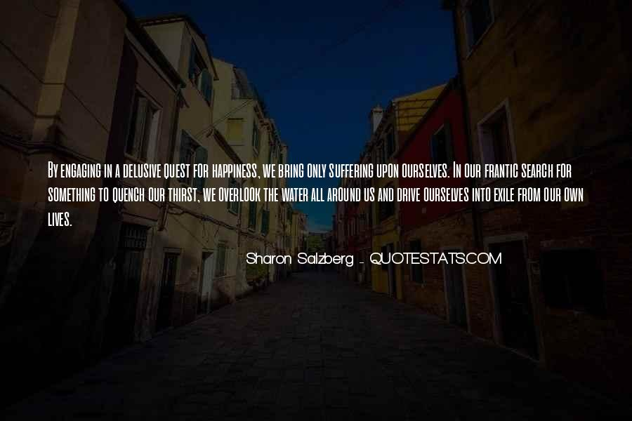 Quotes On The Search For Happiness #249846