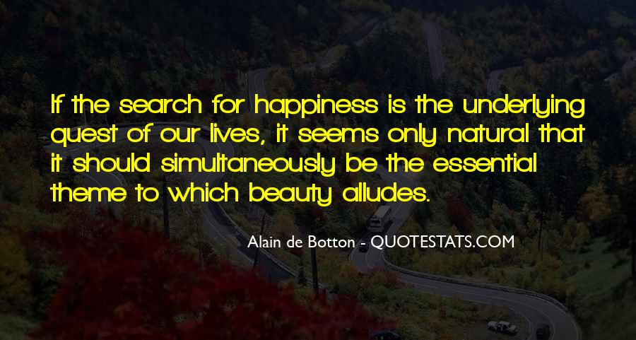 Quotes On The Search For Happiness #253081