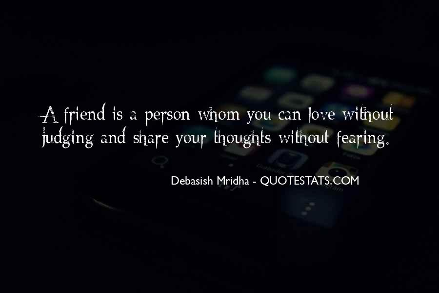 Quotes On Third Person In Friendship #238523