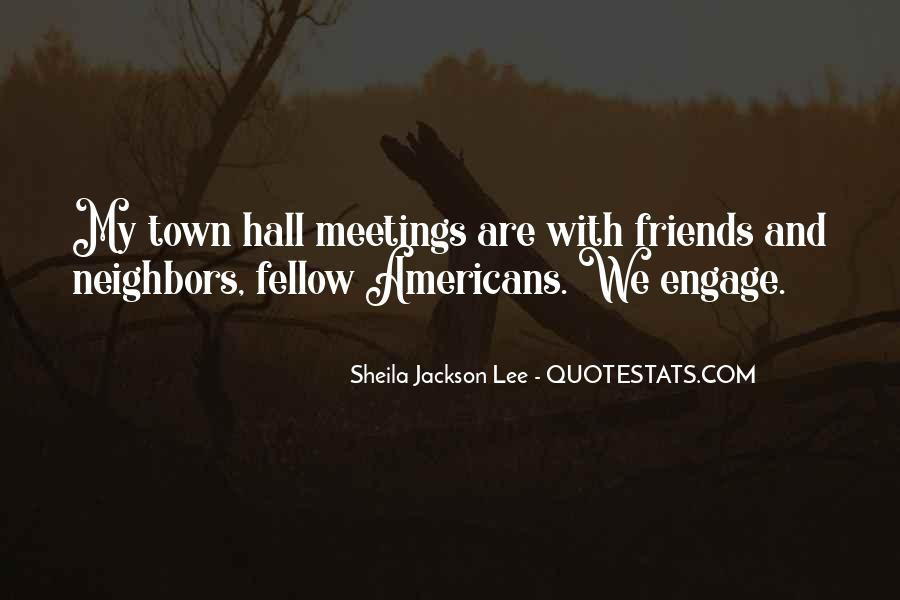 Quotes On Town Hall #121144