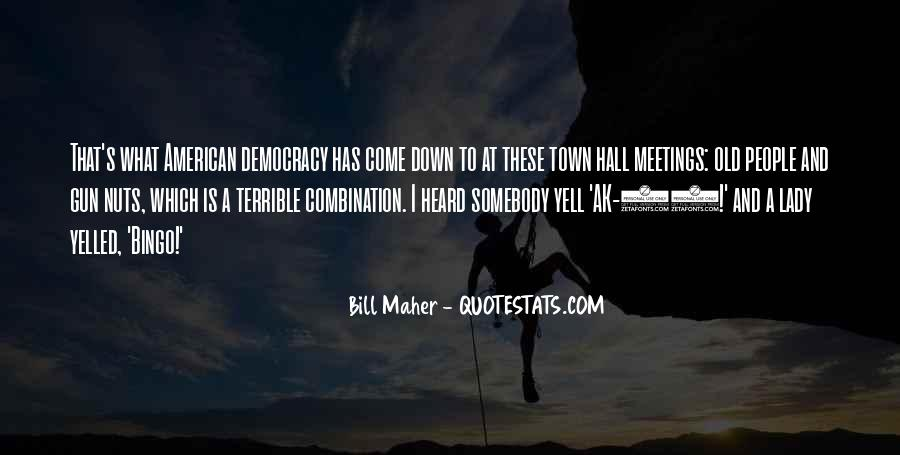 Quotes On Town Hall #1300840
