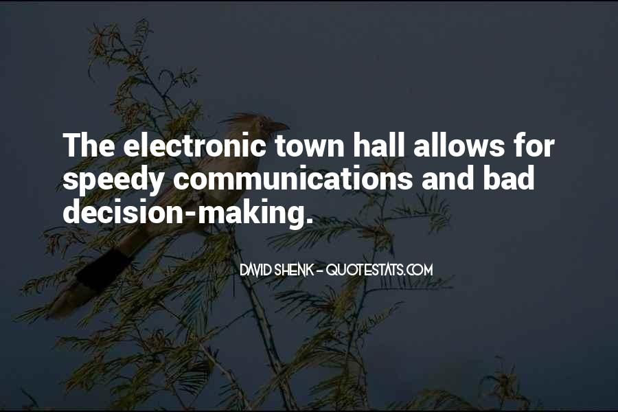 Quotes On Town Hall #1357752