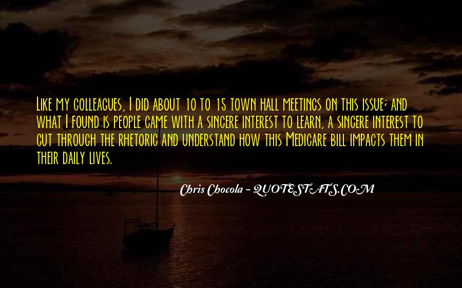 Quotes On Town Hall #1380143