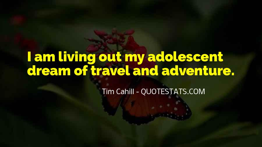 Quotes On Travel Adventure #216839