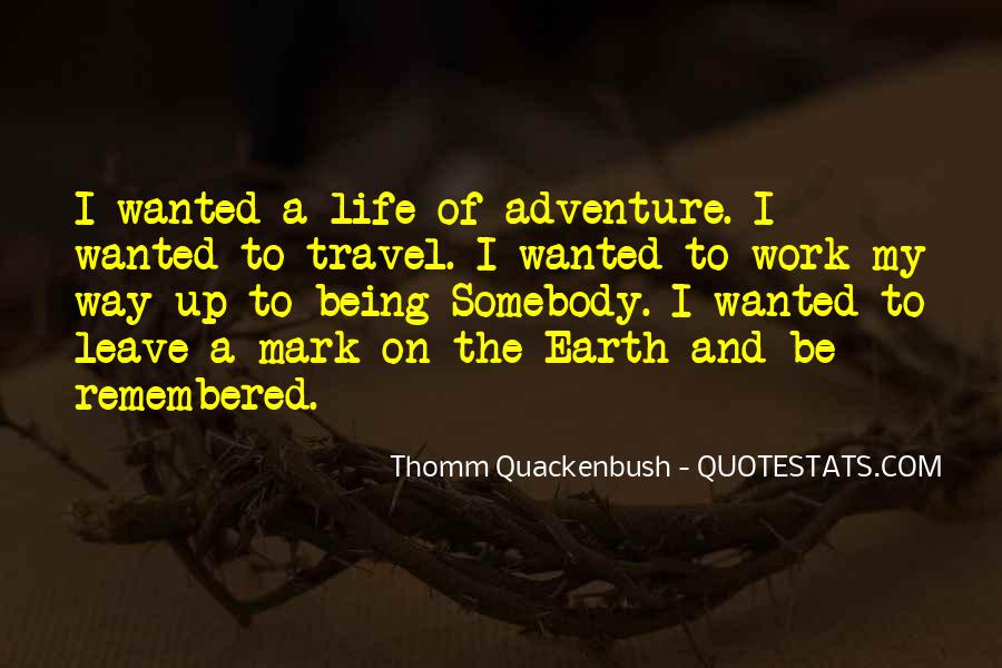 Quotes On Travel Adventure #377895
