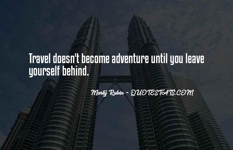Quotes On Travel Adventure #47542
