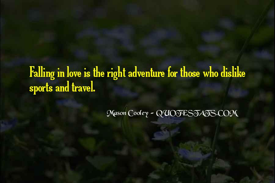 Quotes On Travel Adventure #715925