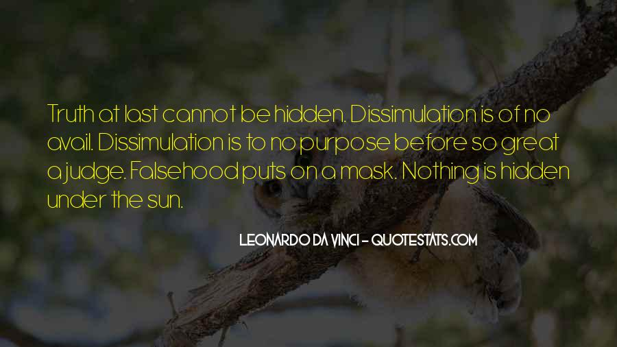 Quotes On Truth Cannot Be Hidden #1210430