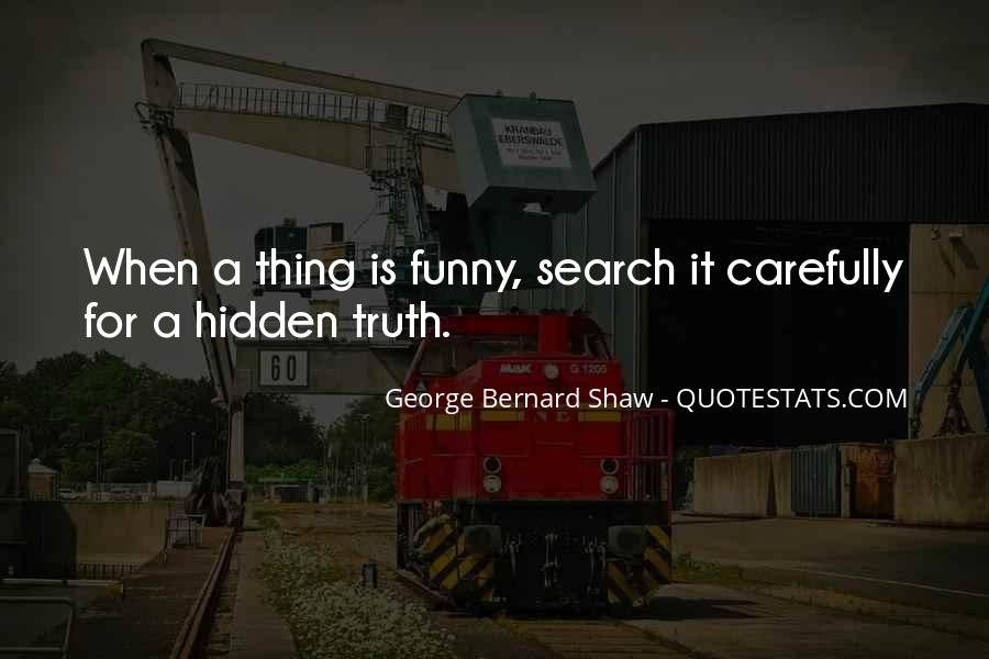 Quotes On Truth Cannot Be Hidden #147941