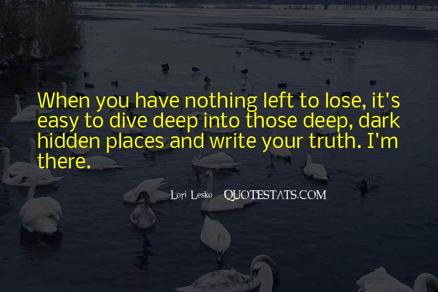 Quotes On Truth Cannot Be Hidden #280996