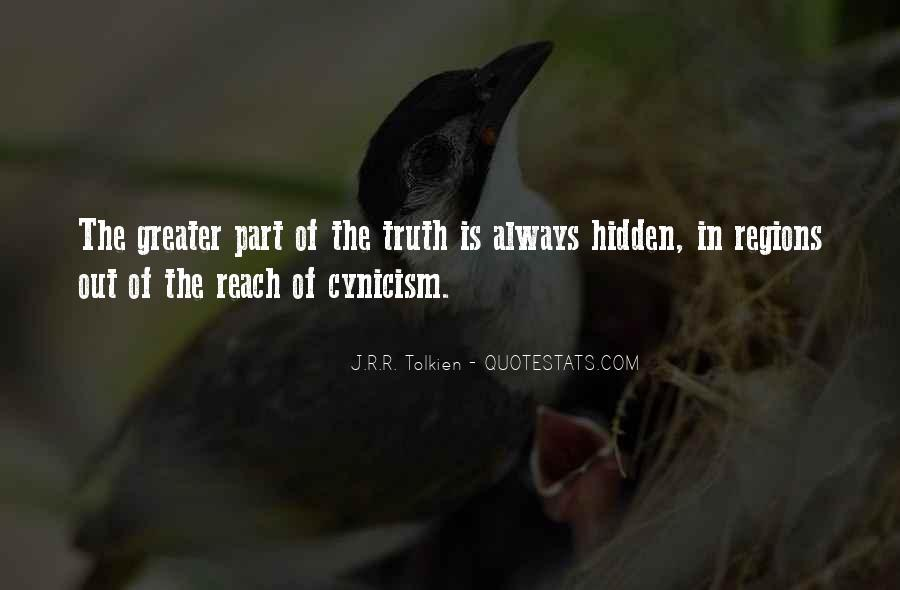 Quotes On Truth Cannot Be Hidden #333717