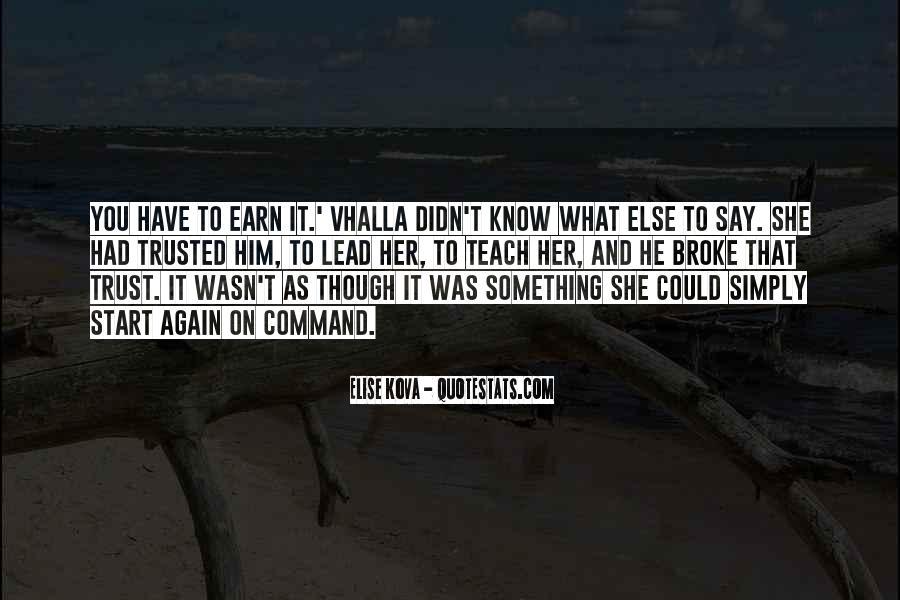 Quotes On U Broke My Trust #1626284
