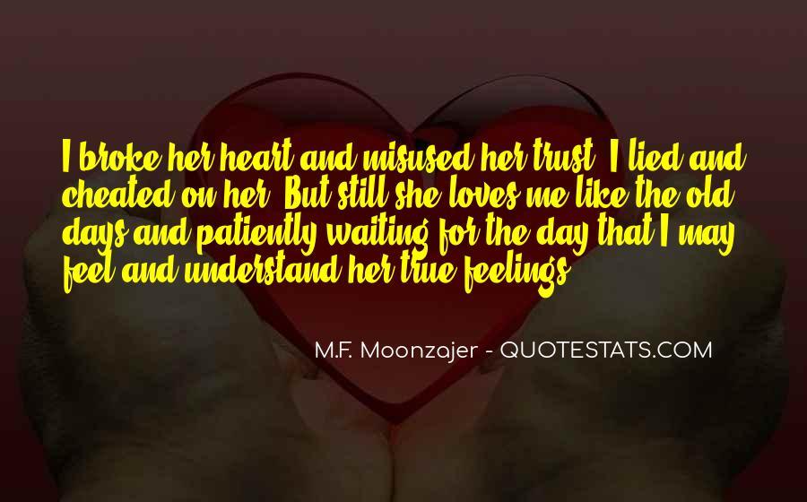 Quotes On U Broke My Trust #1659879