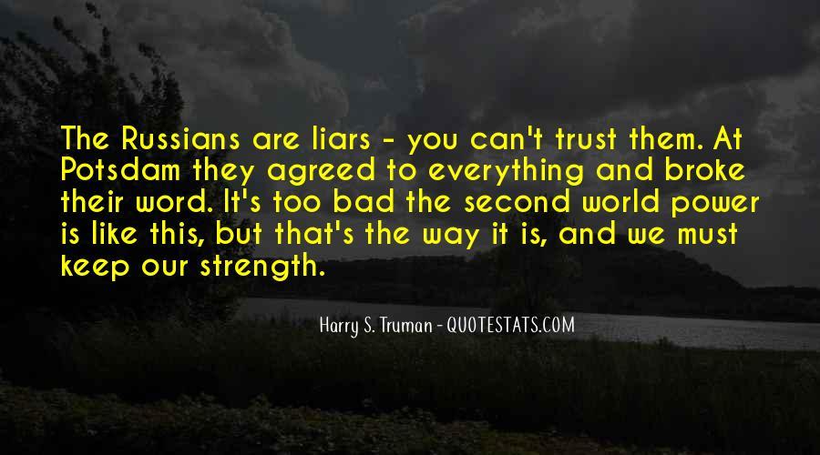 Quotes On U Broke My Trust #868563