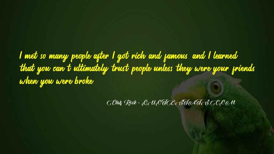 Quotes On U Broke My Trust #872229