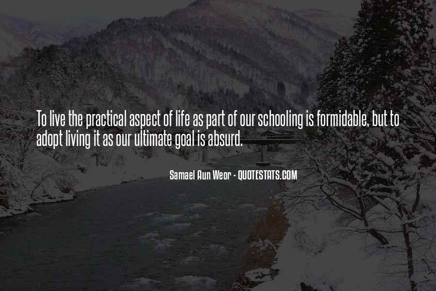 Quotes On Ultimate Goal Of Life #1002755