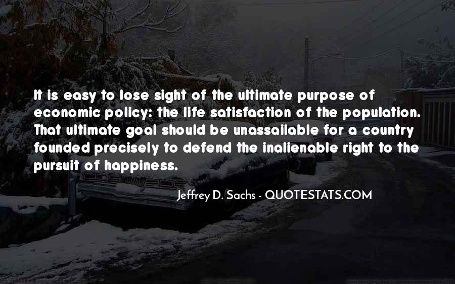 Quotes On Ultimate Goal Of Life #1195741
