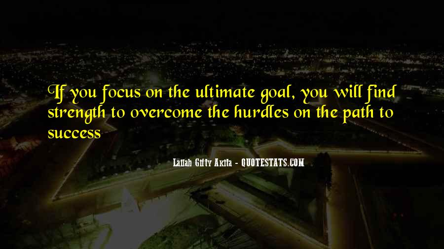 Quotes On Ultimate Goal Of Life #1293440
