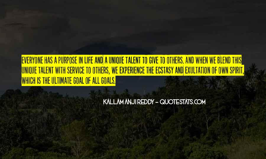 Quotes On Ultimate Goal Of Life #1432664
