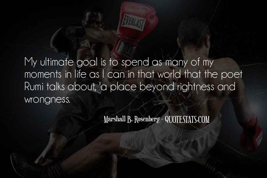 Quotes On Ultimate Goal Of Life #1508051