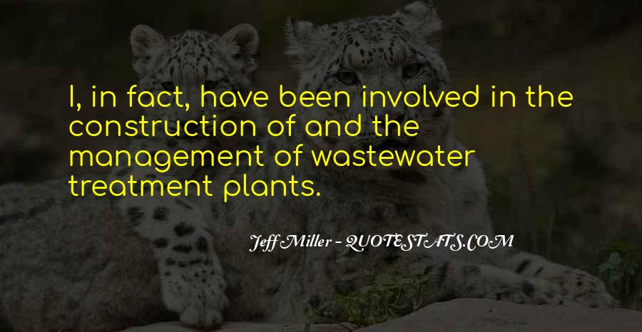 Quotes On Wastewater Management #1374518